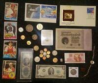 JUNK DRAWER LOT S98: OLD U.S. COINS SCRAP SILVER & GOLD FILL
