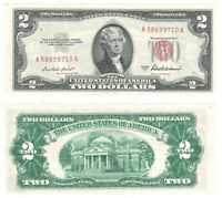 1953 A $2 LEGAL TENDER NOTE FR 1510 UNCIRCULATED 710