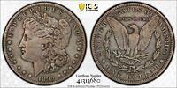 1895-S $1 MORGAN SILVER DOLLAR PCGS VF DETAILS SCRATCHED GOLD SHIELD