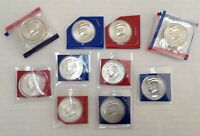 2000 2009 2010 P D KENNEDY HALF DOLLARS BU SATIN COMPLETE 22 COIN SET MINT CELLO