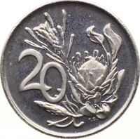SOUTH AFRICA 20 CENTS 1978 PROOF KM 86