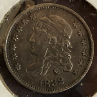 1832 5C HALF DIME CAPPED BUST   CONDITION CIRCULATED COIN
