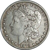 1879-P $1 MORGAN SILVER DOLLAR FINE/VF DETAILS CLEANED / CULL COND. 041021046