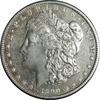 1890-P $1 MORGAN SILVER DOLLAR VF/EXTRA FINE  DETAILS CLEANED / CULL COND. 041021067