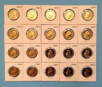 2005 S SACAGAWEA NATIVE AMERICAN DOLLAR GEM PROOF DCAM 20 COIN PROOF SET ROLL