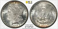 1882 S MORGAN SILVER DOLLAR MINT STATE 62 SILVER PCGS CERTIFIED