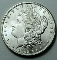 1882-S UNC KEY DATE MORGAN DOLLAR SILVER COIN  STUNNING COIN UNGRADED
