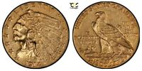 1914 2.50 GOLD INDIAN