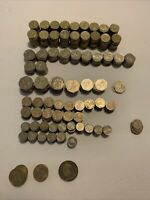 BRITISH POUNDS LOT OF 295 POUNDS FOREIGN CURRENCY COINS UK $