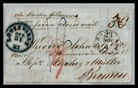 GP GOLDPATH: US STAMPLESS COVER 1856 LOUISVILLE KY CV611_P06