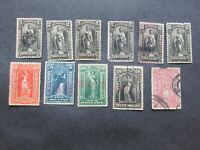 COLLECTION OF US NEWSPAPER STAMPS1895 1897 USED UNUSED HIGH