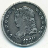1830 CAPPED BUST SILVER HALF DIME-  CIRCULATED TYPE COIN-SHIPS FREE