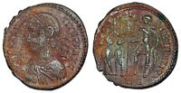 CONSTANTIUS II FEL TEMP CAPTIVES FROM ROME ISSUED UNDER MAGNENTIUS