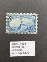 US 1898 SC288 TRANS  MISSISSIPPI EXPOSITION ISSUE 5C MNH  ST