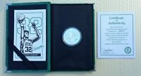 KEVIN MCHALE CELTICS 1 OZ STERLING SILVER COMMEMORATIVE COIN BY BALFOUR WITH COA