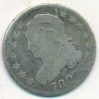 1827 CAPPED BUST SILVER DIME-A  WELL CIRCULATED DIME-SHIPS FREE INV:3