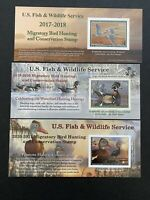 US 2018 2020 FEDERAL DUCK MNH STAMPS