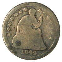 1844-O SEATED LIBERTY HALF DIME  G GOOD CONDITION  PRICED RIGHT