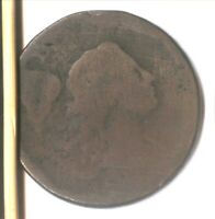 1794 LIBERTY CAP LARGE CENT  S-32   SMOOTH BROWN  WELL WORN  AFFORDABLE