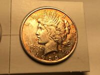 1923-D PEACE DOLLAR IN UNCIRCULATED