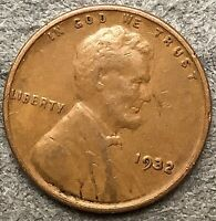 1932 P  LINCOLN WHEAT CENT - HIGHER/HIGH GRADE  FREE SHIP. H553
