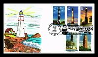 DR JIM STAMPS US LIGHTHOUSES COMBO HAND COLORED LIMITED EDIT