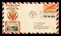 DR JIM STAMPS US 50C AIR MAIL FIRST DAY COVER EVENT CANCEL P