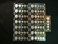COMPLETE U.S. MINT PROOF SET COLLECTION 1950 1964 IN NEW CAP