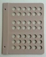 1 DANSCO BLANK DIMES ALBUM PAGE 7125 AND 8125 EXTRA PAGE 42 PORTS 7127 7123 7121