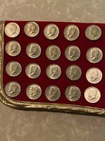 ROLL  20  40  SILVER KENNEDY HALF DOLLER COINS   NO RESERVE