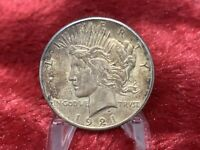 1921 PEACE SILVER DOLLAR HIGH RELIEF