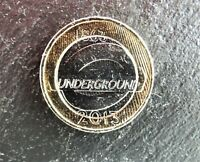 2013 TWO 2 POUND COIN. LONDON UNDERGROUND. CIRCULATED, POLISHED