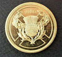 1986 TWO 2 POUND COIN. COMMONWEALTH GAMES.
