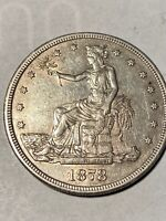 1878 S TRADE DOLLAR TOUGH THIS NICE AVIDLY PURSUED SILVER $