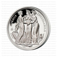 2021 ST HELENA THE THREE GRACES SILVER PROOF FIVE OUNCE 5OZ   ONLY 300 MINTED