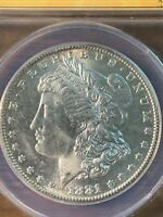 1881 S MORGAN SILVER DOLLAR MINT STATE 64. VAM-57 CHECK OUR OTHER LISTINGS