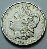 1892-P MORGAN DOLLAR LOW MINTAGE  KEY DATE GREAT DETAILS SILVER COIN