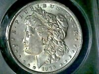 1889-P MORGAN SILVER DOLLAR VAM-29 DOUBLED RIGHT WREATH ANACS MINT STATE 62