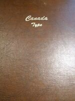 DANSCO CANADA TYPE SET ALBUM AND 65 COINS 5 PAGES 1858   1968