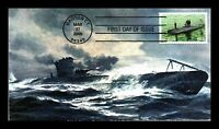 DR JIM STAMPS USS HOLLAND NAVY SUBMARINES FDC HERITAGE HAND