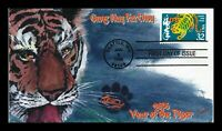 DR JIM STAMPS US COVER YEAR OF TIGER CHINESE NEW YEAR FDC LI