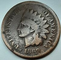 1869 INDIAN HEAD CENT PENNY
