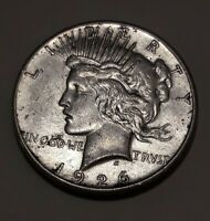 1926 S  PEACE SILVER DOLLAR -  NO RESERVE - COMBINED SHIPPING