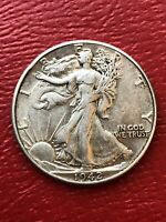 1942 WALKING LIBERTY HALF DOLLAR PLEASE CHECK OUT OUR LARGE INVENTORY