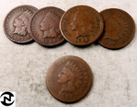 1  1800'S INDIAN HEAD PENNY COIN // 1859 1899 // GOOD OR BETTER