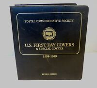 U.S FIRST DAY AND SPECIAL COVERS 1988 1989 POSTAL COMMEMORATIVE SOCIETY