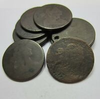 1796 1807 DRAPED BUST LARGE CENT  1 COIN  // CULL LOW GRADE