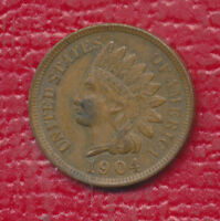 1904 INDIAN HEAD CENT   4 FULL DIAMONDS    UNCIRCULATED