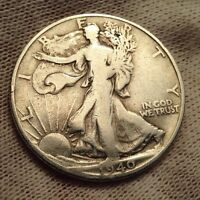 1940-S 50C WALKING LIBERTY HALF DOLLAR BEST OFFER CHECK OUT MY STORE  1