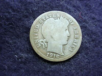1916 S BARBER DIME GREAT COIN!!  5